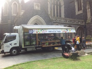 Justice Food Truck Wesley Church Melbourne